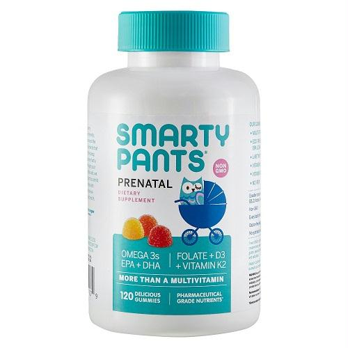 Smarty Pants Prenatal Multivitamin Gummies (1x120 Ct)