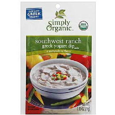 Simply Organic Sw Rnch Yog Mix (12x1oz )