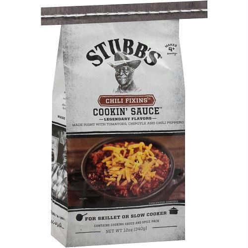 Stubb's Chili Fixins Cookin' Sauce  (6x12 Oz)