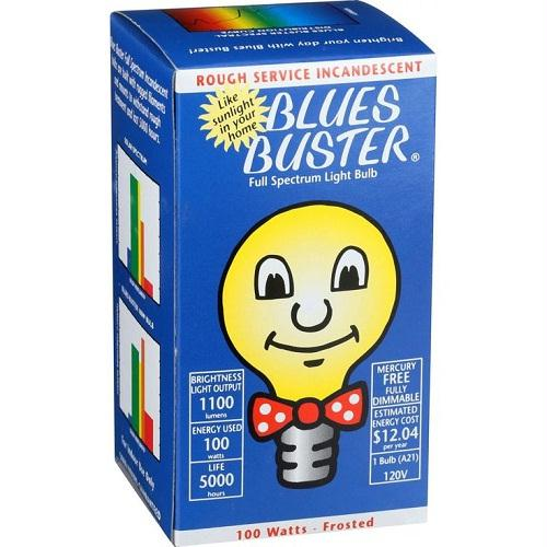 Blues Buster Full Spectrum Lights 100 Watt Frosted (1x1 Each)