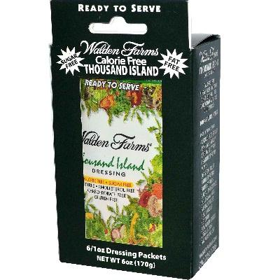 Walden Farms Thousand Islnd Pkt (6x1oz )