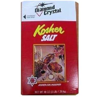 Diamond Crystal Kosher Salt-box (12x3lb )
