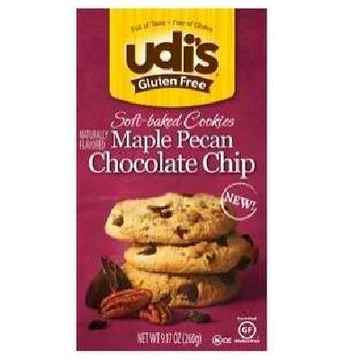 Udi's Gluten Free Chocolate Chip Pecan Cookie (6x9.17oz )