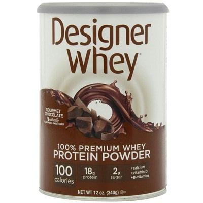 Designer Whey Grmt Chocolate Protein Powder (1x12oz )