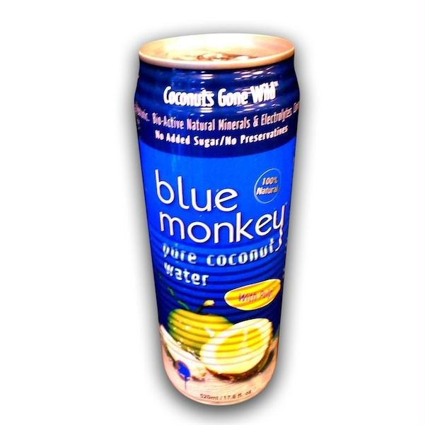 Blue Monkey Coconut Water W-plp (24x17.6oz )