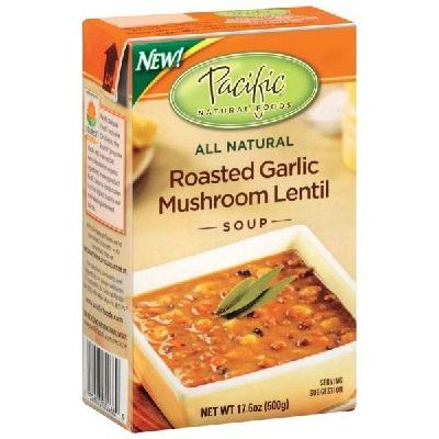 Pacific Natural Foods Gar-mush Lntl Sp (12x17oz )