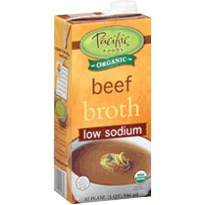 Pacific Natural Foods Ls Beef Broth (12x32oz )