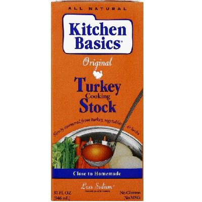 Kitchen Basics Turkey Stock (12x32oz )