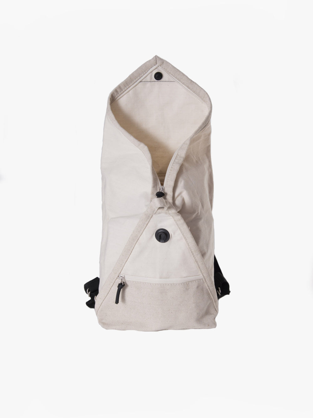 Catamaran backpack features an original opening option