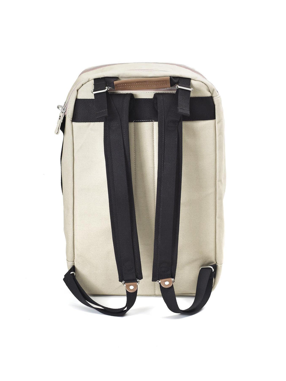 The padded straps of Qwstion Backpack for a confortable carry