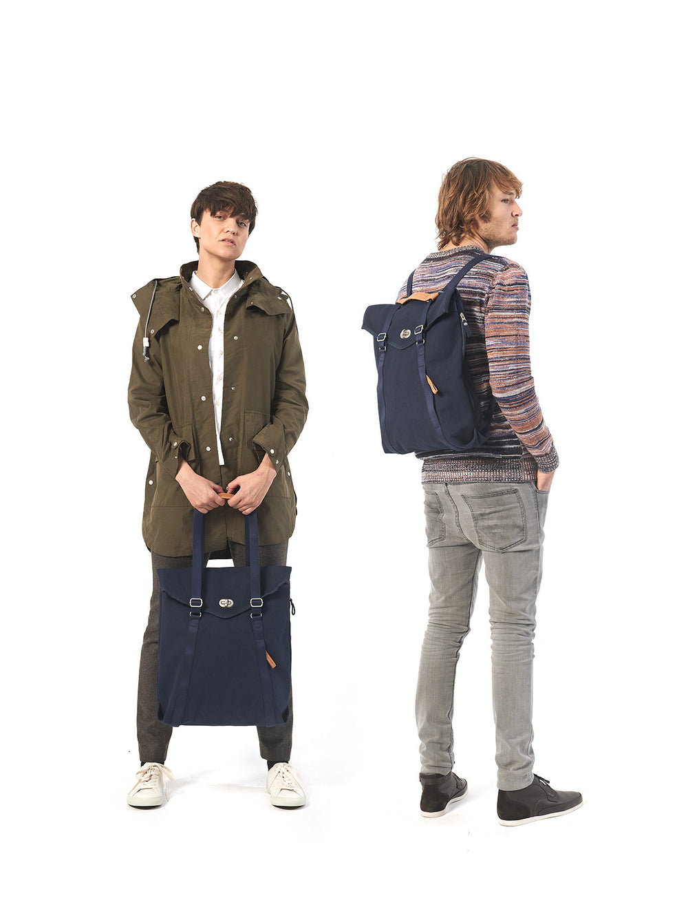 Qwstion Tote urban backpack