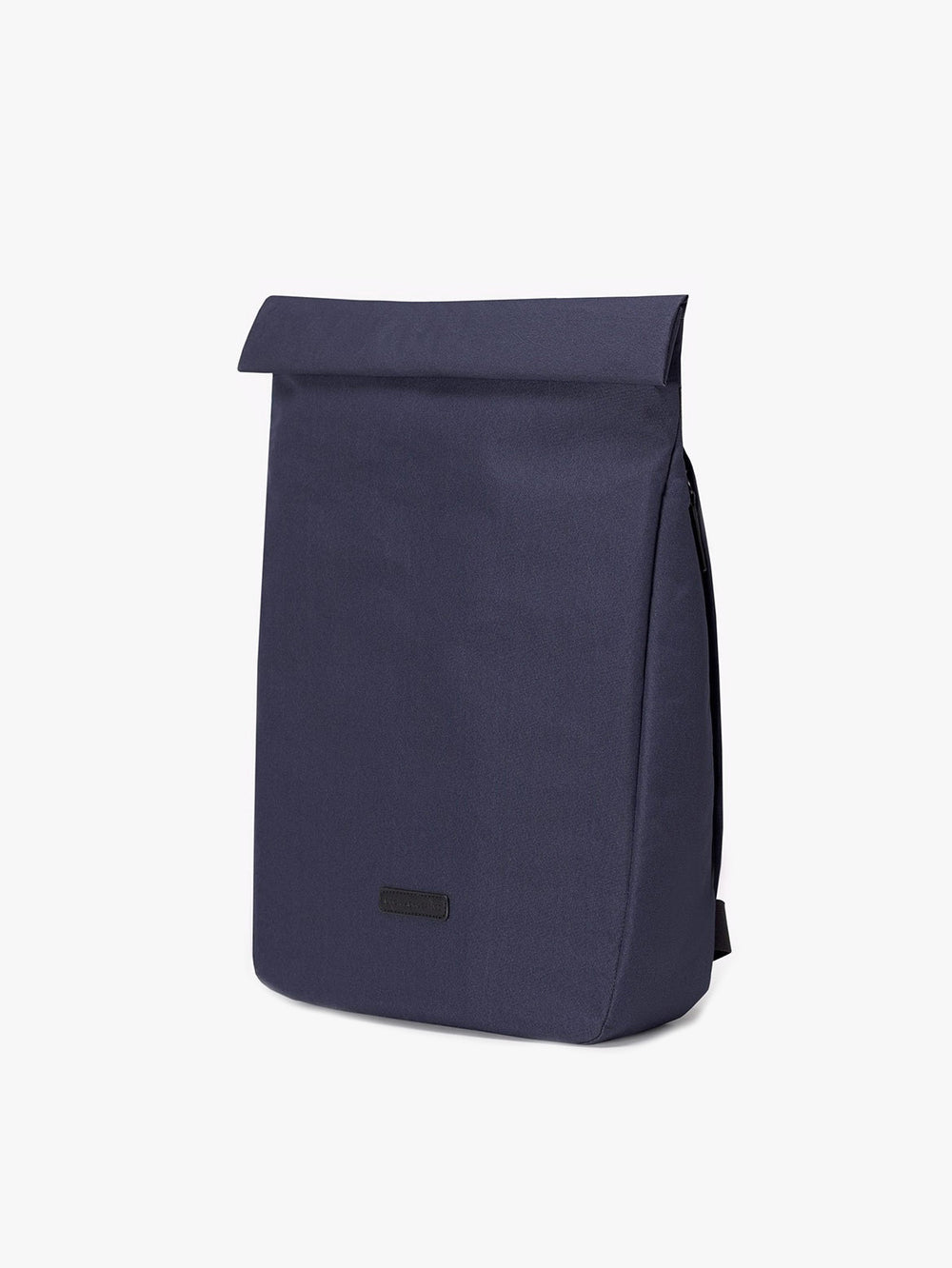 Roll top dark navy backpack designed by Ucon Acrobatics