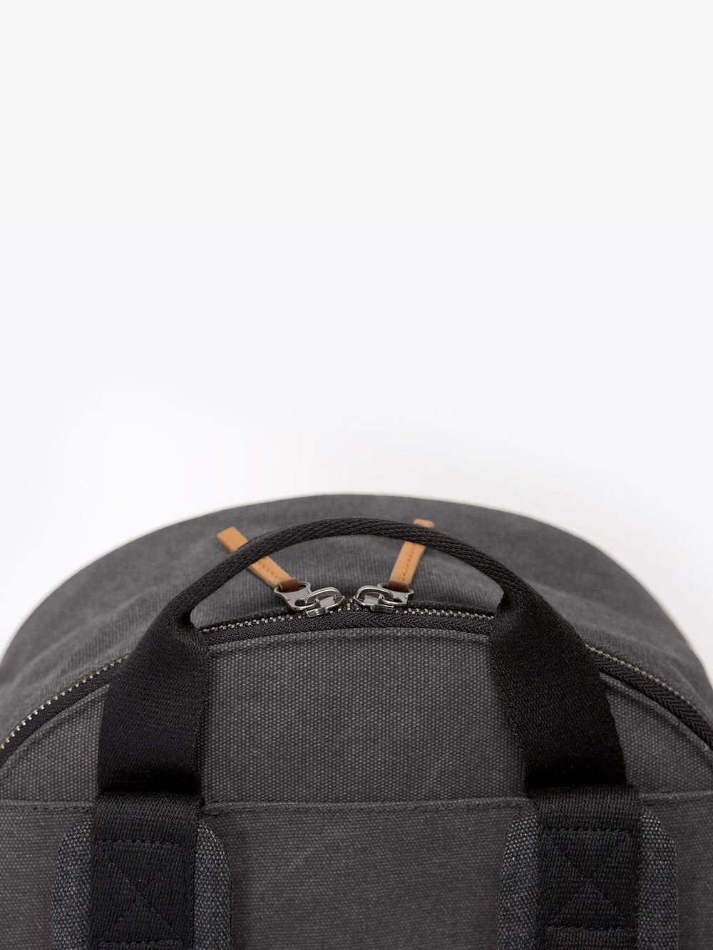 Minimalist Marvin urban backpack top zipped access.