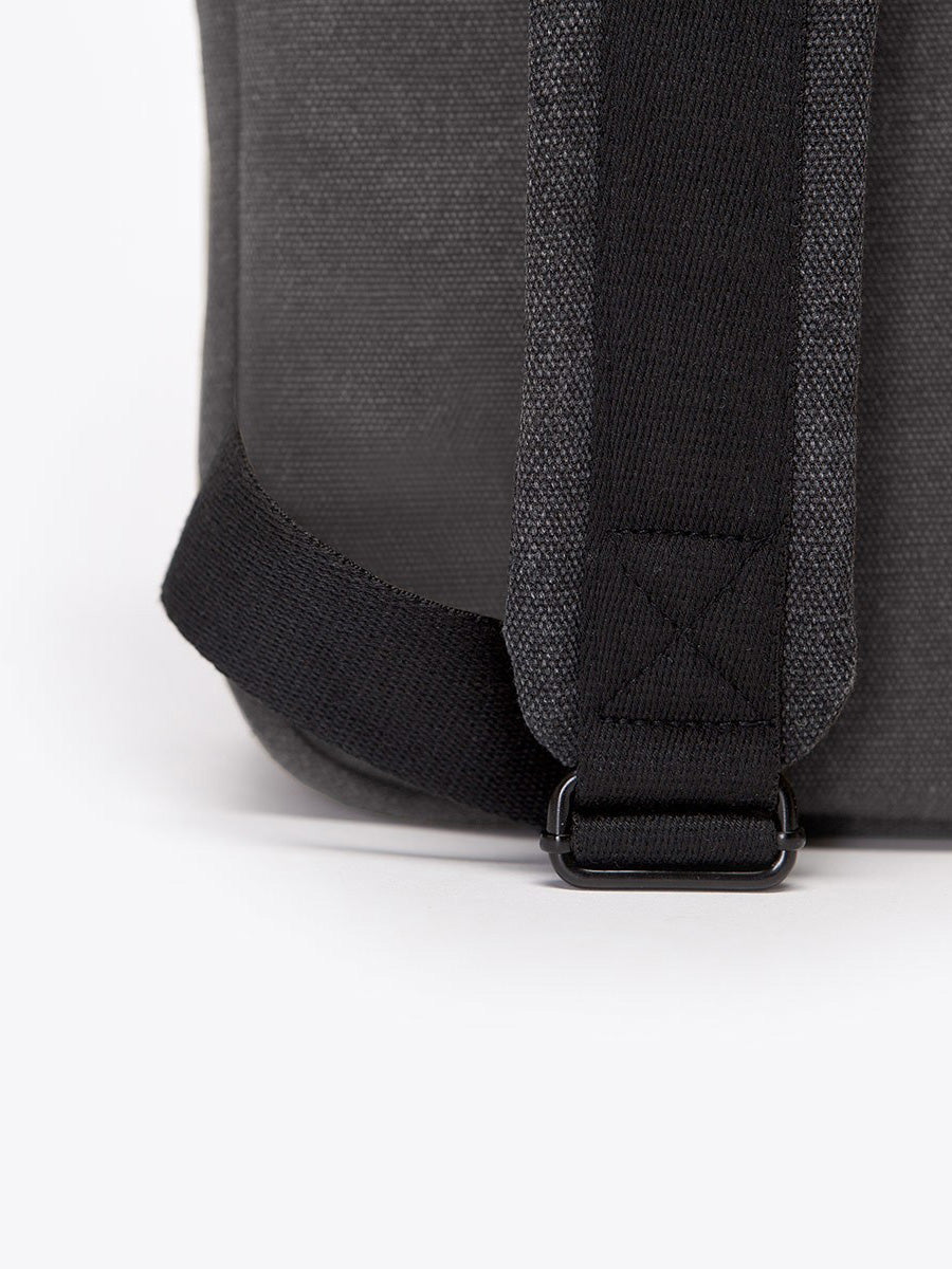 Marvin backpack's adjustable and padded shoulder strap.