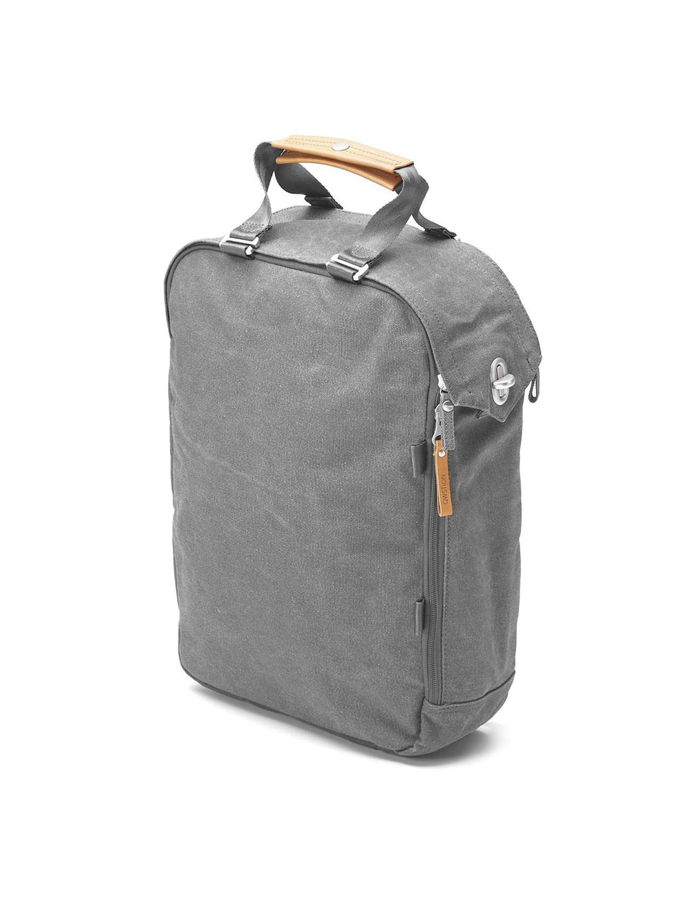 Minimalist Swiss design from Qwstion for this Daypack in Washed Grey