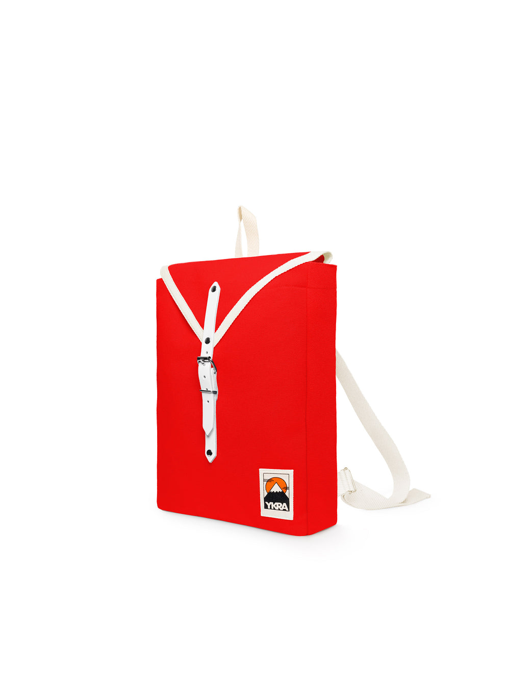 YKRA Red backpack brings color to your everyday journeys