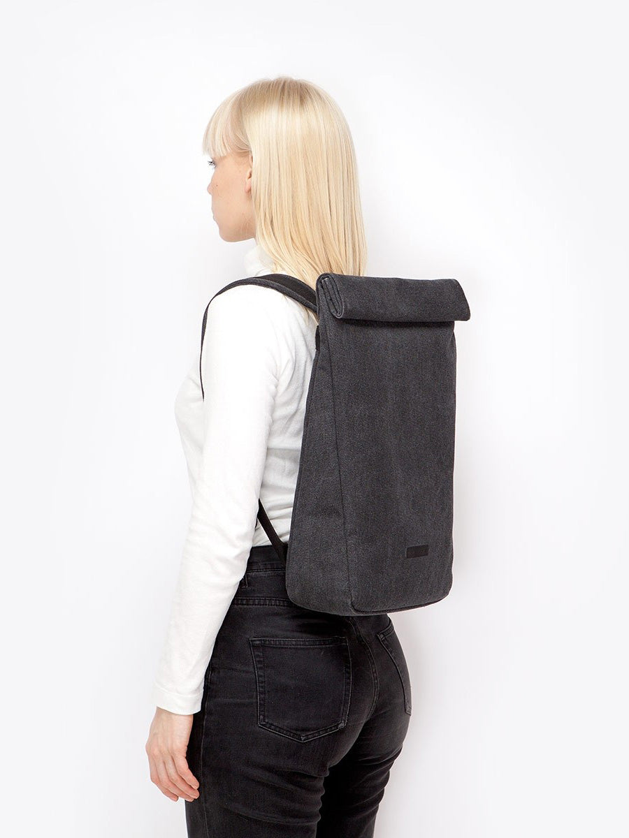 Alan Backpack Crow Series Black