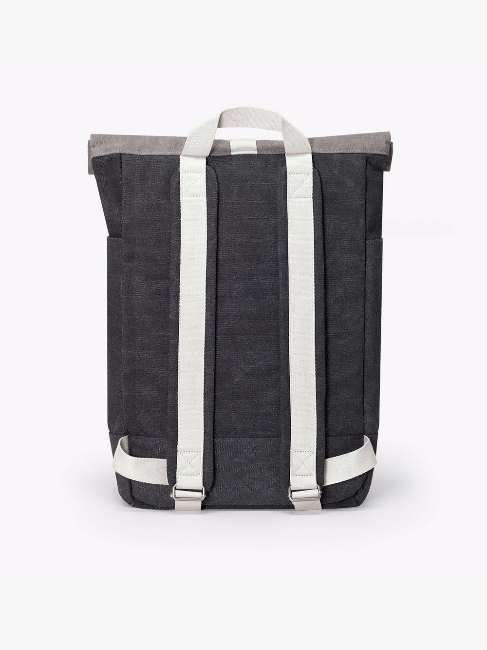 Adjustable shoulder straps and top handle feature the Hajo Backpack