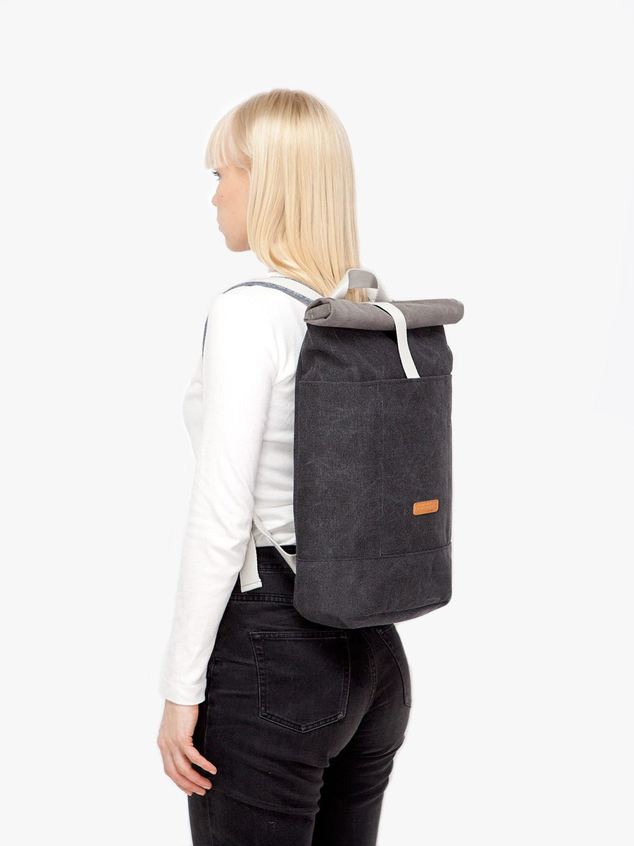 Hajo packpack is compact and comfortable to carry