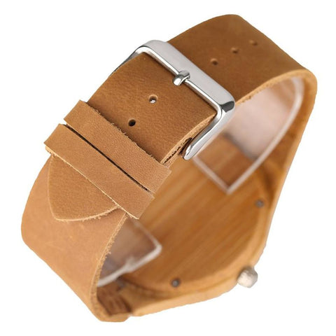 Bamboo Kitten Wrist Watch Watch