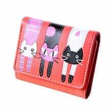 Catscratch Kitties Wallet Red Wallet