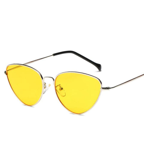 Catshionista Sunglasses Yellow Sunglasses