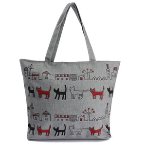 Cute Cats In Your Neighborhood Bag Shoulder Bag