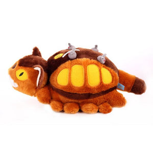 Fluffy Catbus Cushion Bed Buddy Toy