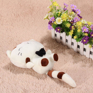 Fluffy Tail Kitty Cushion Toy