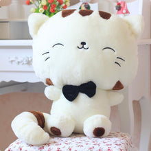 Fluffy Tail Kitty Cushion White / 30Cm Toy