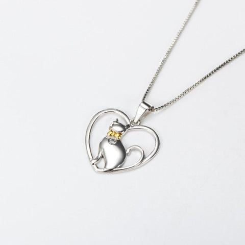 Heart Full Of Kitty Pendant