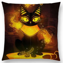 Irresistible Kitties Pillow Covers Yellow Mau Colored Pillow
