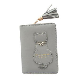 Kitten In A Bow Tie Wallet Gray / China Wallet