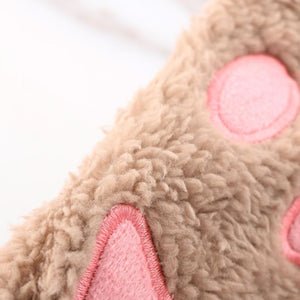 Kittens Paw Gloves Fluffy Wear