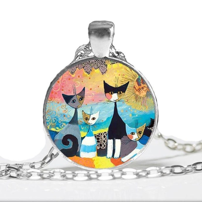 Kitty Medallion Of Rosina Wachtmeister Pendant