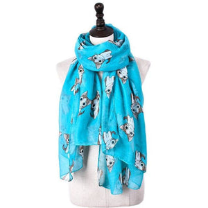 Little Chi Scarf Turquoise Scarf