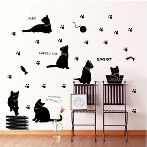 Lovely Cat Wall Decoration