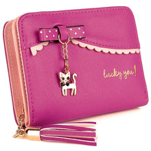 Lucky Kitty Wallet Ruby Wallet