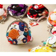 Maneki Neko Fluffy Kitty Coin Purse Wallet