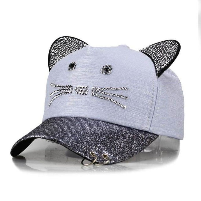 Mc Skat Kat Baseball Cap Sky Blue Hat