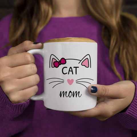 Mr. & Mrs. Cat Mug Mom Mug