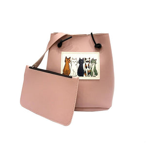 Neko No Shuukai At Your Party Shoulder Bag Candy Pink Shoulder Bag
