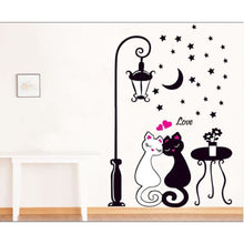 Pepé Le Pew & Penelope On A Date Wall Decoration Stickers