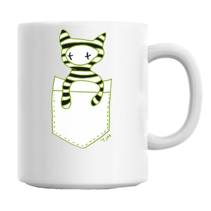 Pocket Cat Buddy Mug Mug