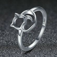 Precious... Purrfect Silver Ring 6 / Loving Ring