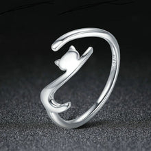 Precious... Purrfect Silver Ring 6 / Playful Ring