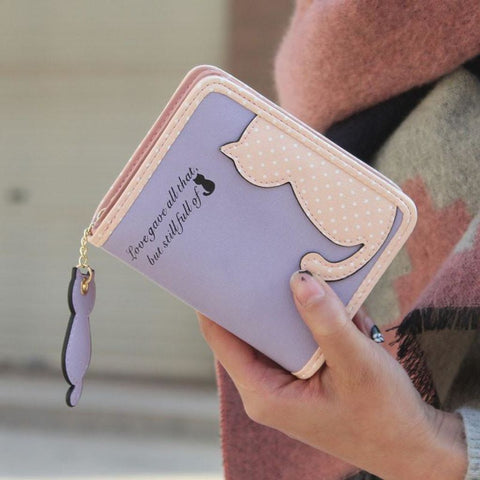 Purrfect Kitty Wallet Purse