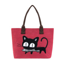 Purrfect Meow Shoulder Bag Red Shoulder Bag