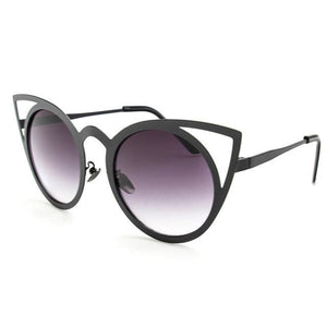 Royal Kitty Sunglasses Gradient Gray Sunglasses
