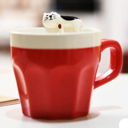 Siesta Time Kitty Cup Rosso Cup